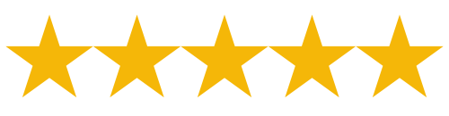 5/5 Star Review Rating