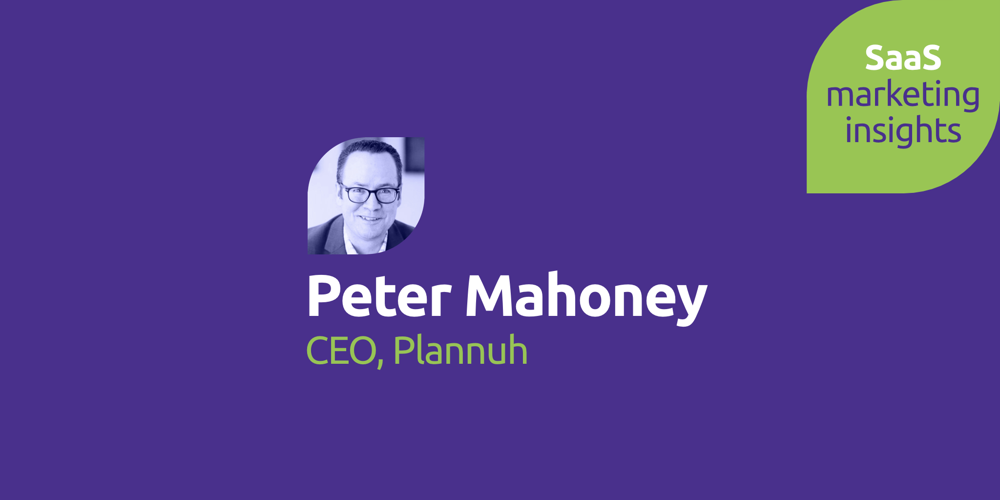 Peter Mahoney, Plannuh