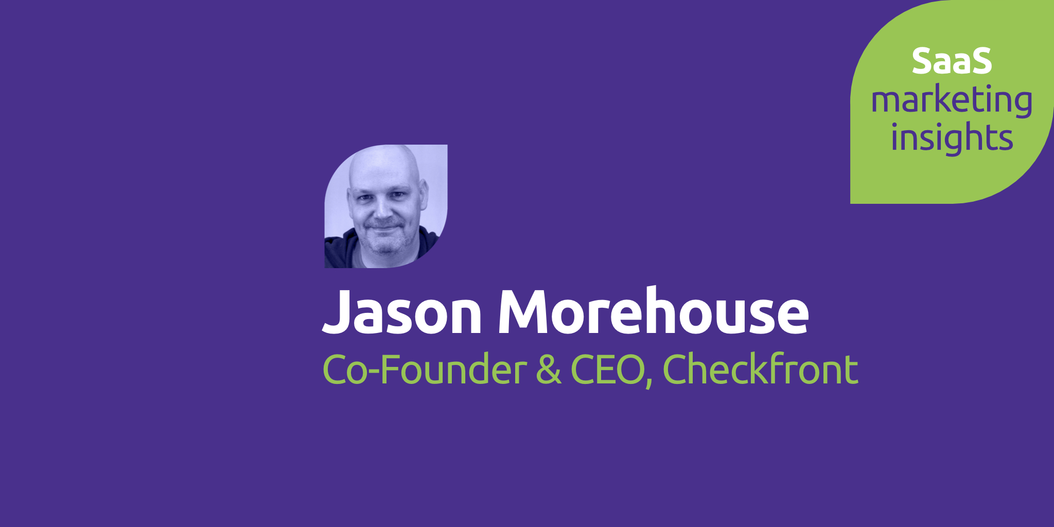 Jason Morehouse, Checkfront