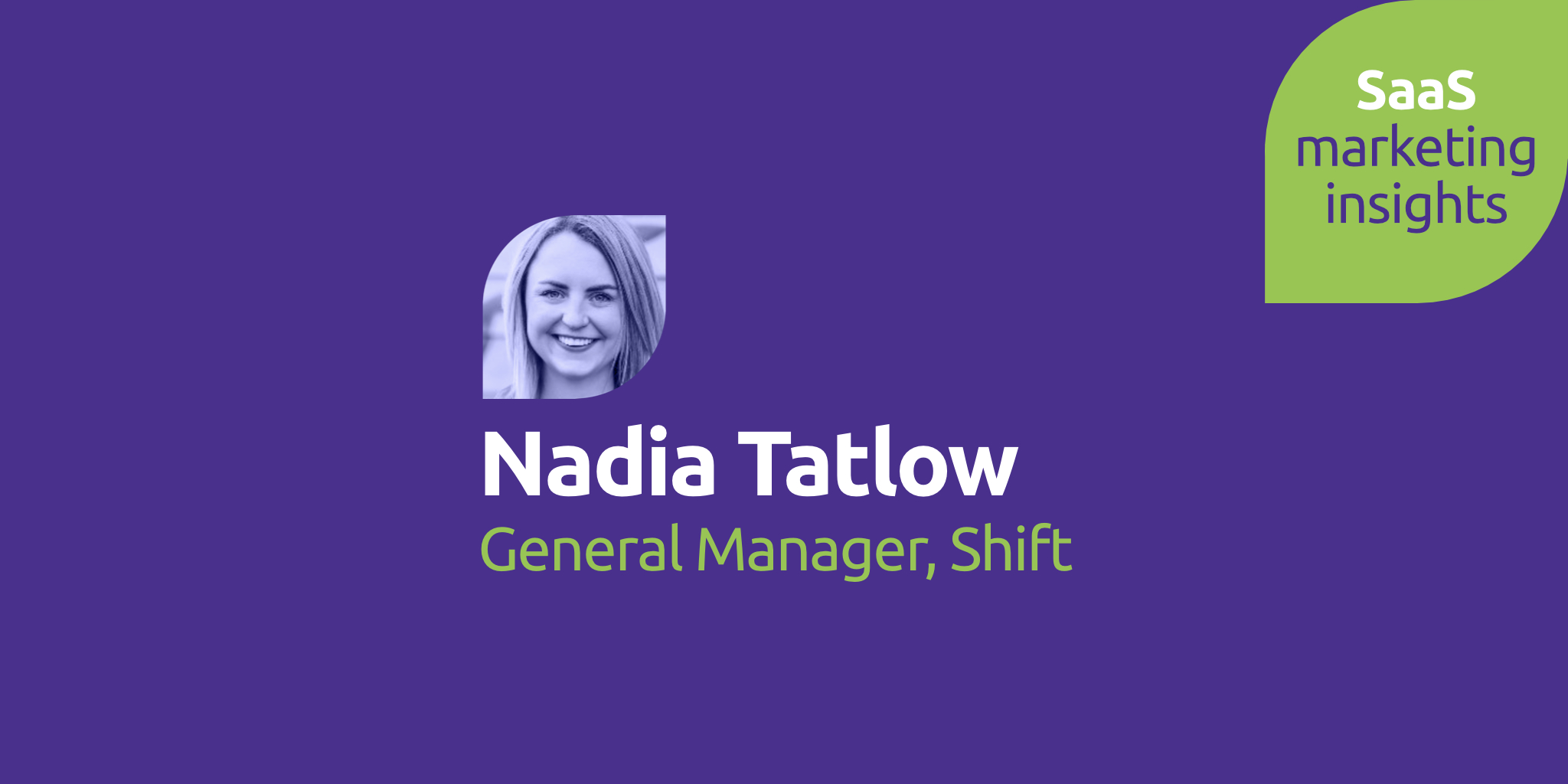 Nadia Tatlow, Shift, Redbrick