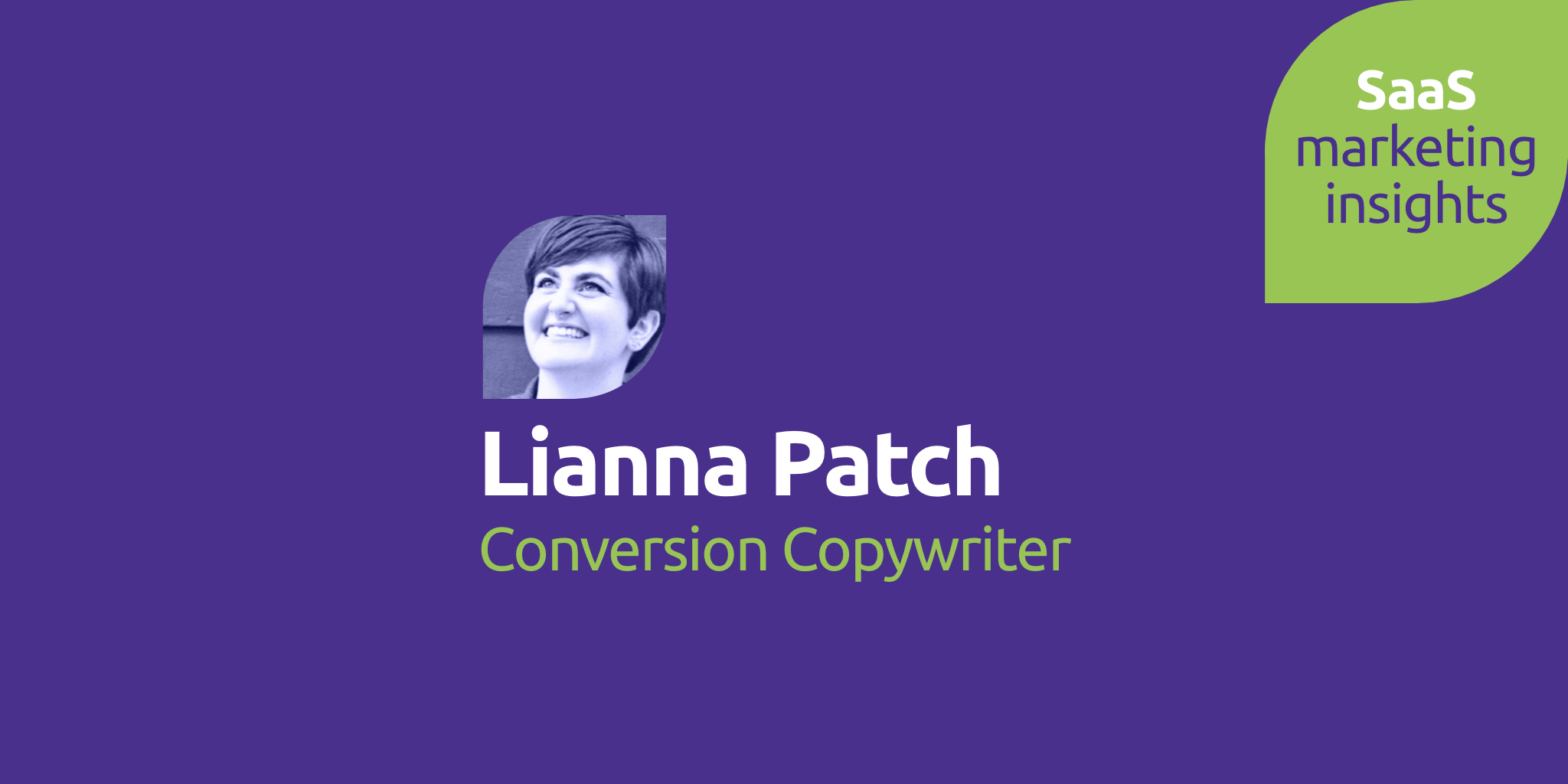 Lianna Patch, Conversion Copywriter