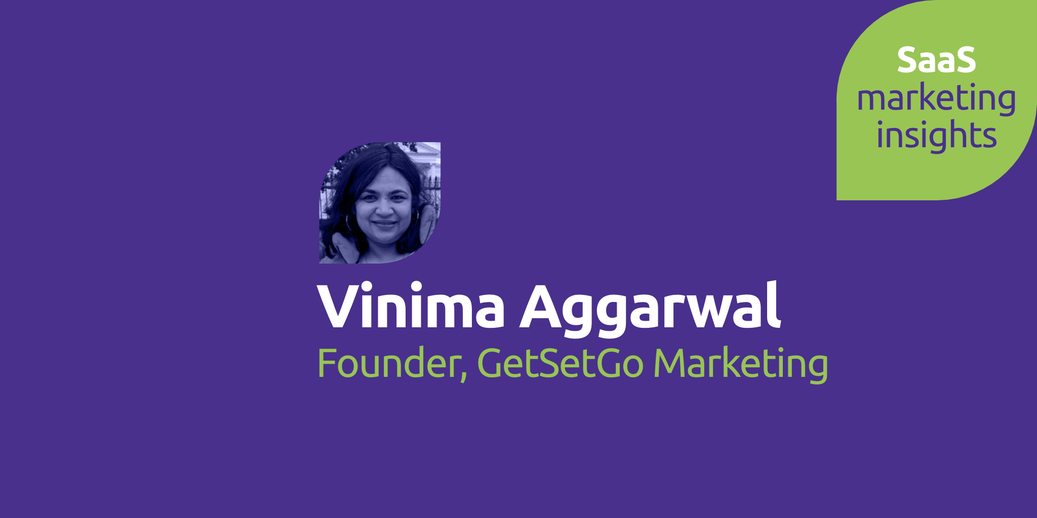 Vinima Aggarwal, GetSetGo Marketing
