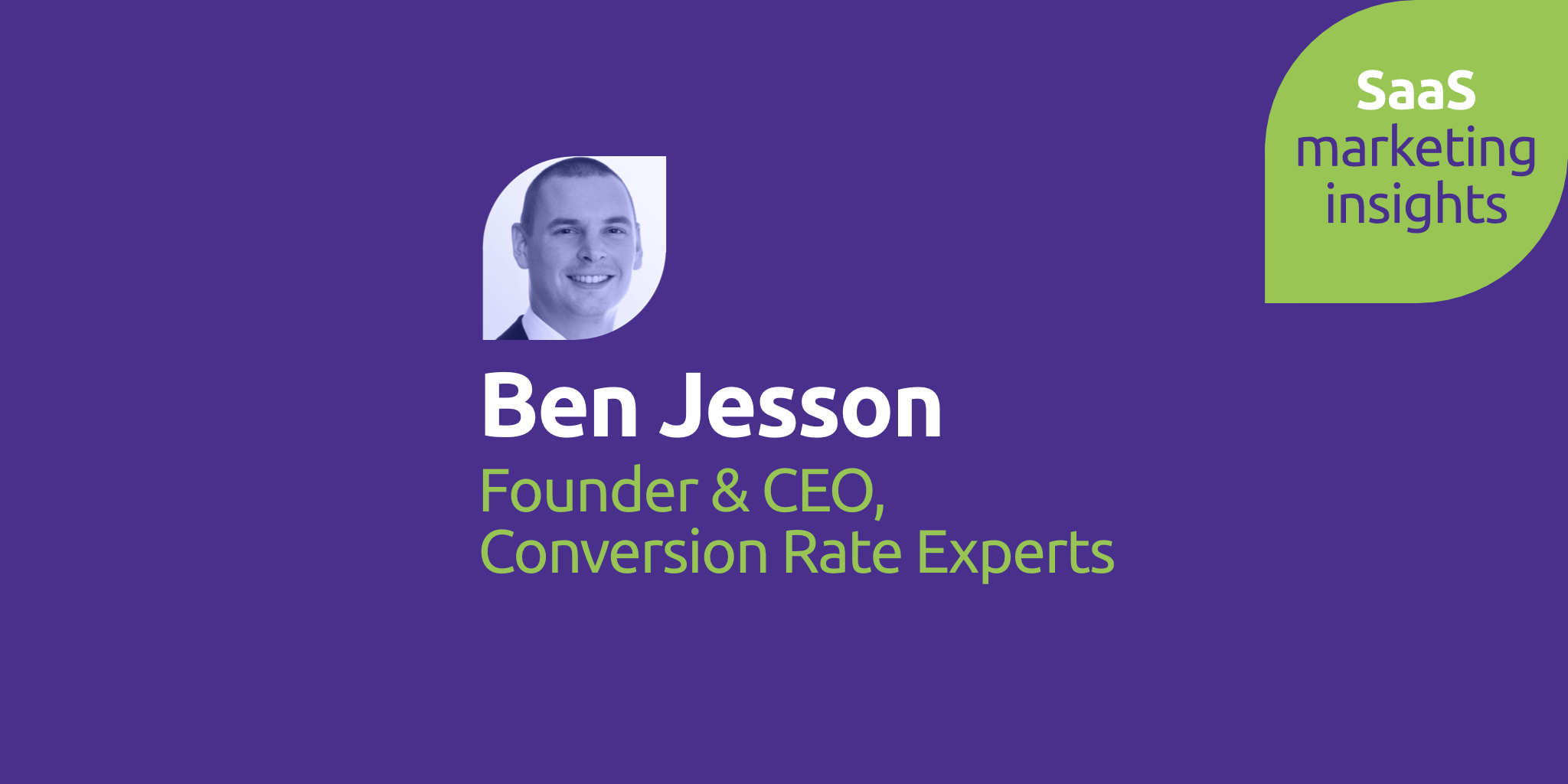 Ben Jesson, Conversion Rate Experts